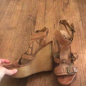 G by Guess wedges! Size 7 1/2